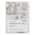Маска для лица с экстрактом жемчуга Pureness 100 Pearl Mask Sheet Tony Moly, Корея, 21 мл
