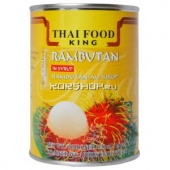 Рамбутан в сиропе Thai Food King, Таиланд, 565 г...