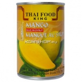 Манго в сиропе Thai Food King, Таиланд, 425 г